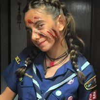 Disfraz Halloween – Heridas por zarpazo