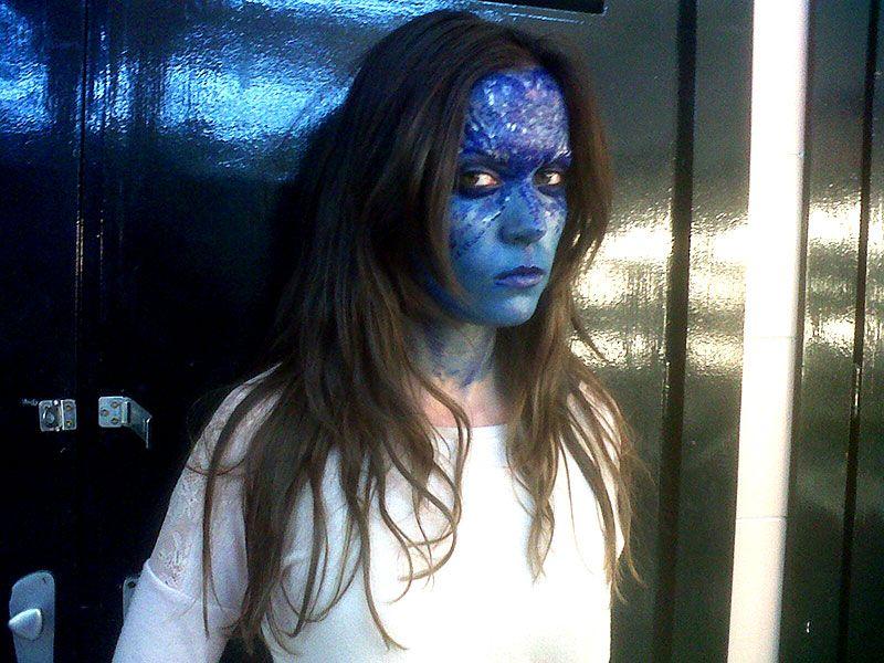 Disfraz X-Men – Maquillaje del personaje Mística