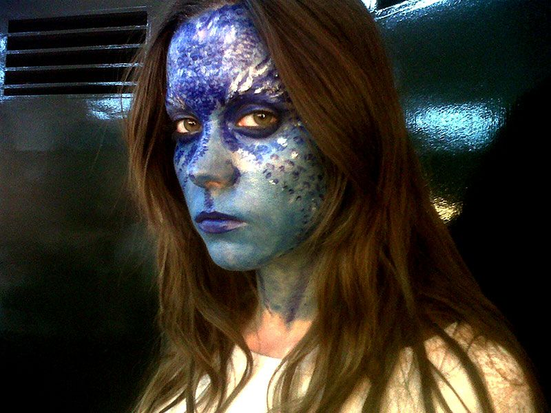 Maquillaje y caracterización X-Men – Disfraz de Mística